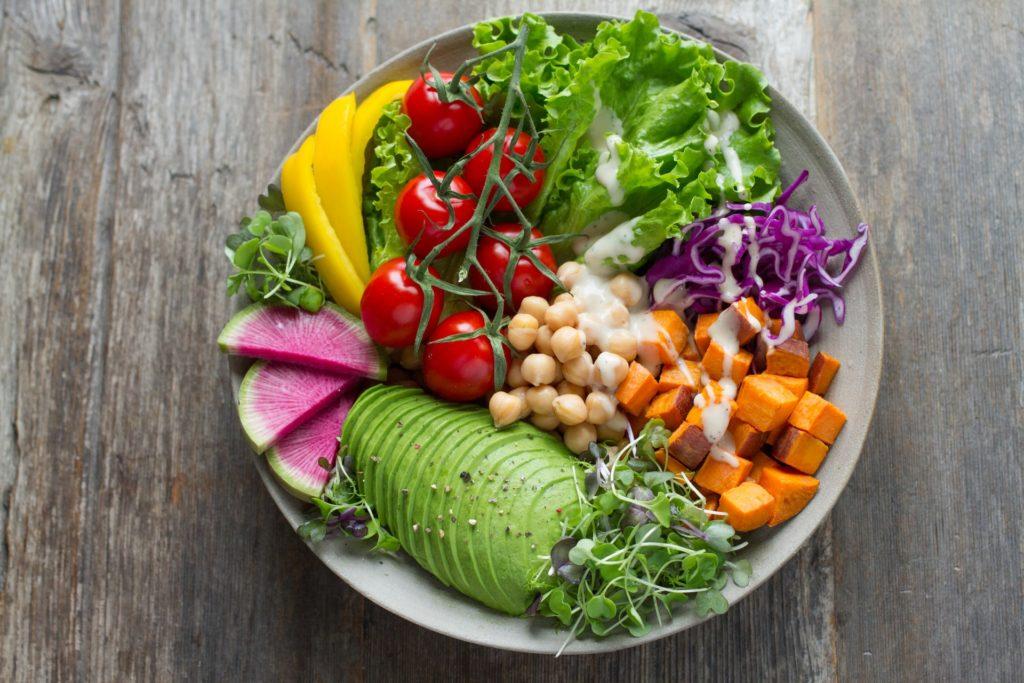 栄養バランスのよい食材