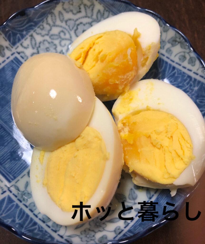 かんたんぬか美人で漬けた茹で卵
